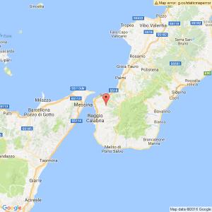 Terremoto vicino Reggio Calabria: scossa di magnitudo 3.4