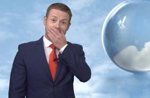Meteorologo Bbc ubriaco dopo la festa di Natale abbandona la diretta