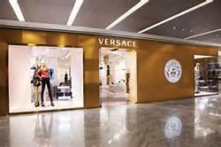 Una boutique di Versace