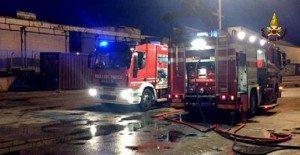 Perosa Argentina: incendio in poligono, un morto intossicato