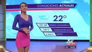 YOUTUBE Yanet Garcia, la meteorina più bollente della tv