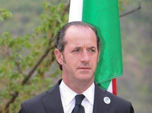 """Luca Zaia: """"Nel 2017 referendum per la autonomia del Veneto"""""""