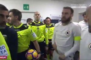 """Genoa-Roma, peto nel tunnel. Nainggolan a De Rossi: """"Madonna mia..."""""""