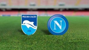 Napoli-Pescara streaming - diretta tv, dove vederla