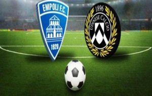 Empoli-Udinese streaming - diretta tv, dove vederla