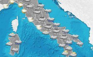 Previsioni meteo martedì 17 gennaio e mercoledì 18 gennaio