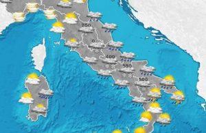Previsioni meteo mercoledì 18 gennaio e giovedì 19 gennaio