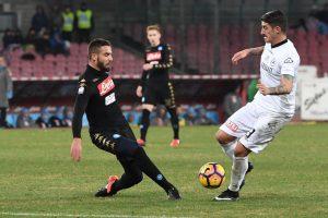 Napoli ai quarti di Coppa Italia: 3-1 allo Spezia, doppietta di Giaccherini