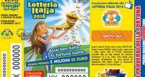 Lotteria Italia 2016, estrazione biglietti vincenti in streaming: dove guardarla