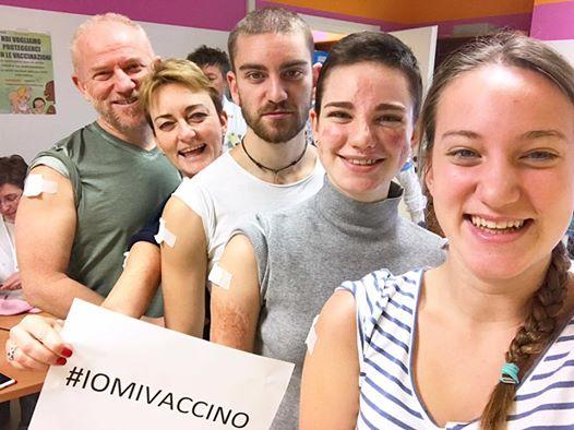 Bebe Vio e famiglia, vaccino anti-meningite Importante FOTO2