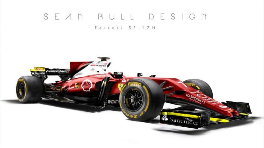 F1, il rendering della Ferrari: sarà così la nuova monoposto?