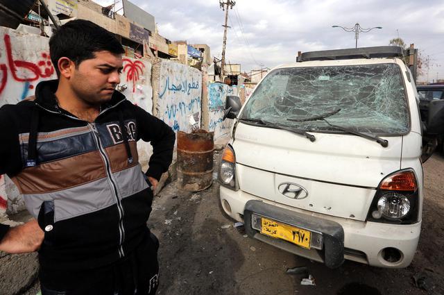 Iraq, 2 attentati Baghdad vicino ospedali provocano 39 morti4