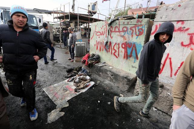 Iraq, 2 attentati Baghdad vicino ospedali provocano 39 morti3