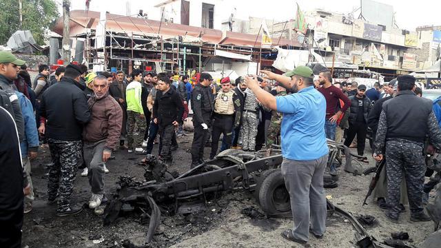 Iraq, 2 attentati Baghdad vicino ospedali provocano 39 morti2