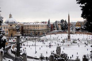 Domenica neve a Roma: le previsioni meteo. Arriva il vento delle steppe russe
