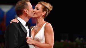 Rocco Siffredi e la moglie (foto Ansa)