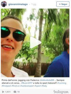 VIDEO, Federica Pellegrini - Giovanni Malagò jogging alle Maldive