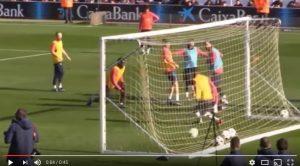 VIDEO - Messi che inizio 2017: gol pazzesco in allenamento
