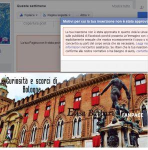 Facebook censura Nettuno. Ira degli utenti. Costretto alle scuse FOTO