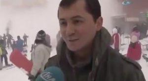 """YOUTUBE Turchia, valanga sugli sciatori mentre l'albergatore dice: """"Qui nessun maltempo"""""""
