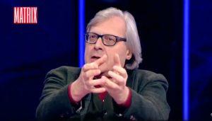 """YOUTUBE Vittorio Sgarbi: """"Craxi scop... Moana Pozzi che lo spiava"""""""