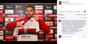 Calciomercato Genoa, Taarabt con maglia con frase di Gianni Brera