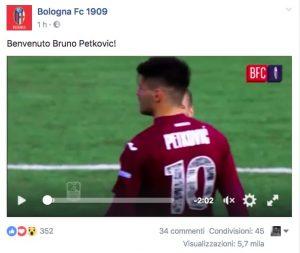 Calciomercato Bologna, arriva Bruno Petkovic dal Trapani