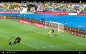 Gabon-Burkina Faso 1-1 highlights Coppa d'Africa: Aubameyang decisivo
