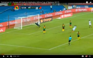 Camerun-Guinea Bissau 2-1 highlights Coppa d'Africa: Ngadeu decisivo