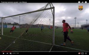 YouTube, Barcellona: Messi incanta anche in allenamento