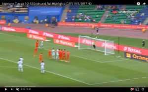 Algeria Tunisia 1 2 highlights Coppa d'Africa: Sliti decisivo