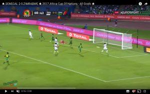 Senegal-Zimbabwe 2-0 highlights Coppa d'Africa: Saivet decisivo