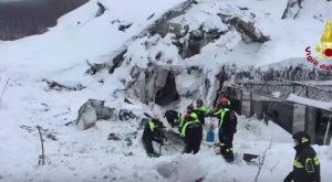 """YOUTUBE Hotel Rigopiano, """"sono vivi"""": audio dei soccorritori"""