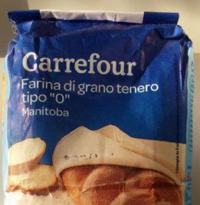 Carrefour ritira farina manitoba: contiene allergene soia