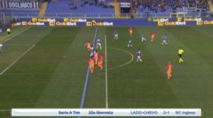 Sampdoria-Roma, Dzeko non era in fuorigioco: rigore negato ai giallorossi