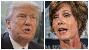 Trump licenzia ministro giustizia dell'era Obama che non difende il bando immigrati