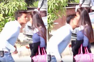 """""""Kiss and run"""": molestare una ragazza con un bacio, la nuova moda web"""