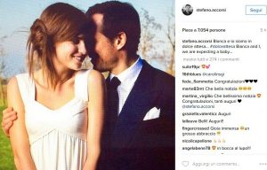 """Stefano Accorsi e Bianca Vitali: """"Siamo in dolce attesa"""""""