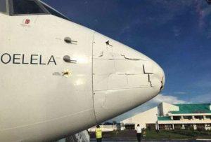 Aereo contro drone durante atterraggio: panico a bordo per 86 passeggeri in Mozambico