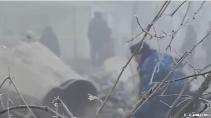 Aereo precipita sulle case <br /> in Kirghizistan: 37 morti