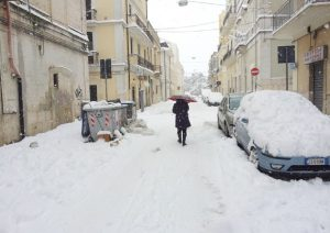 Monte Pruno (Salerno): famiglie isolate da giorni a causa della neve