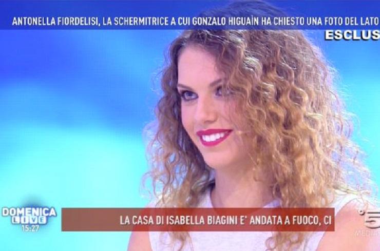 """Antonella Fiordelisi: """"La chat con Higuain? Ecco come è andata…"""""""