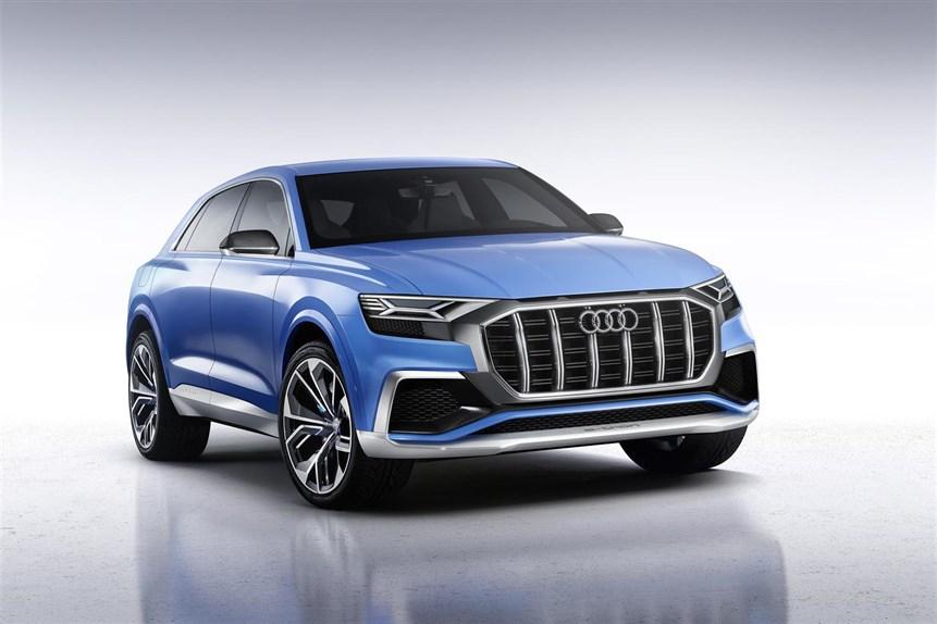 Audi Q8 concept, il suv sportivoche andrà a sfidare le BMW X6 e Mercedes GLE Coupé 02