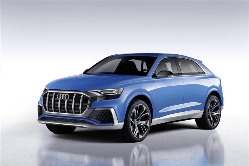 Audi Q8 concept, il suv sportivoche andrà a sfidare le BMW X6 e Mercedes GLE Coupé 03