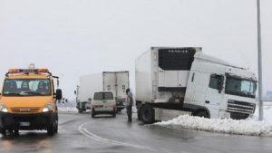 Freezing rain: autostrada A13 chiusa tra Rovigo e Padova per pioggia gelata