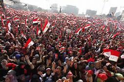Dimostrazione al Cairo