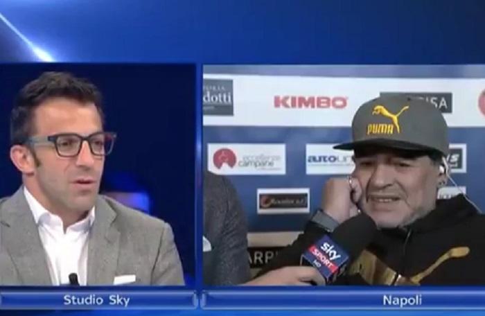 """YOUTUBE Del Piero a Maradona: """"Che emozione quando lui…"""""""