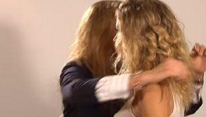 YOUTUBE Diletta Leotta, bacio saffico con Mirella Sessa nel 2010