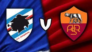 Sampdoria-Roma diretta formazioni ufficiali video gol highlights pagelle foto