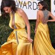 Emily Ratajkowski ai Golden Globe: abito quasi nude look FOTO 6